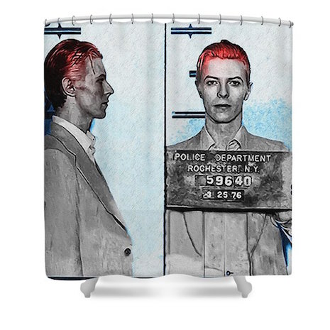 Shower curtains rock punk
