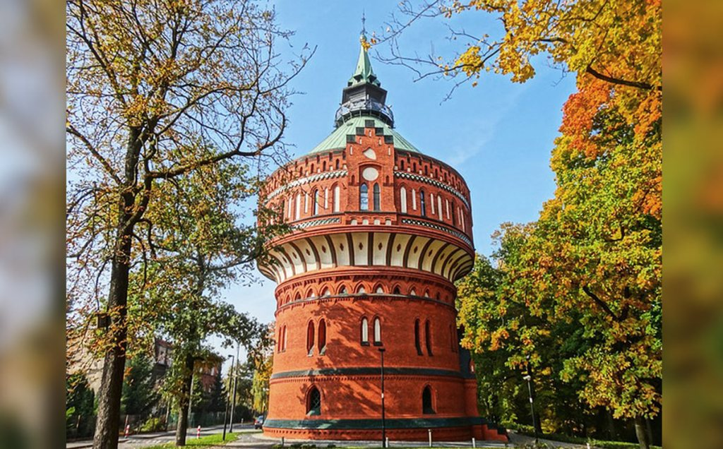 Bydgoszcz - Château d'eau