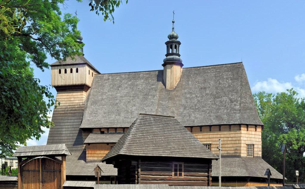 Eglise en bois à Haczów