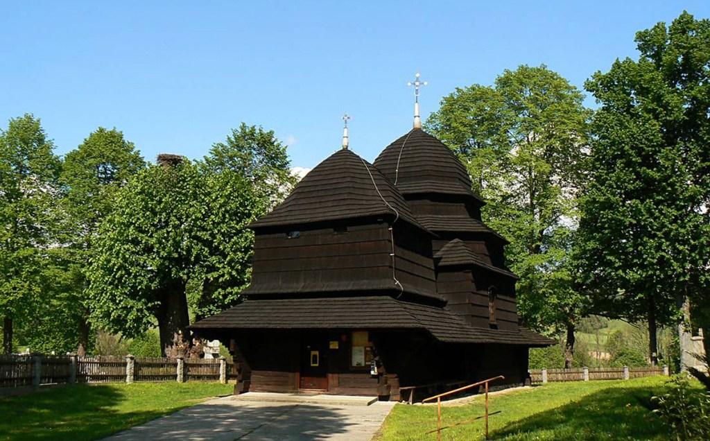 Eglise en bois à Równia