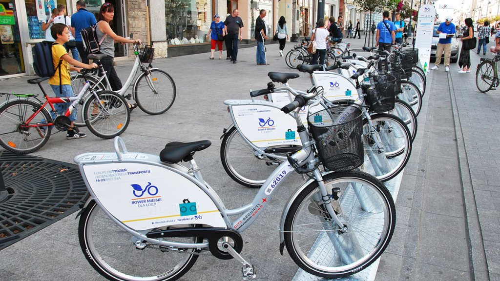 Łódź - le vélo en libre-service