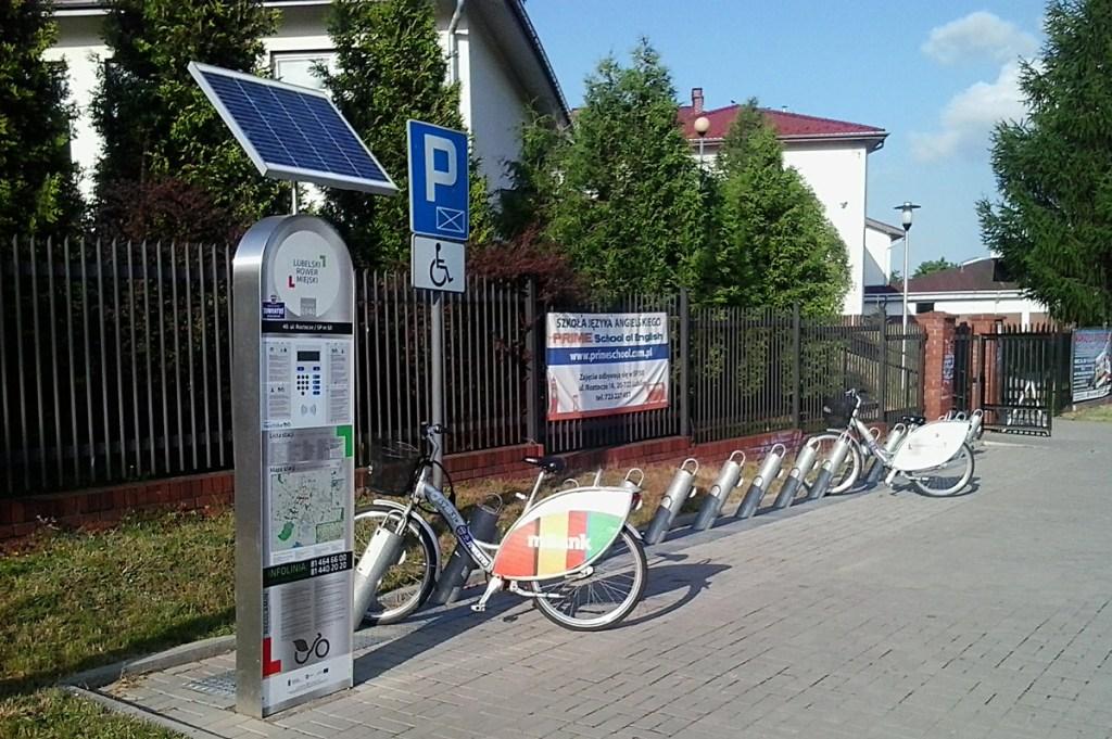 Lublin - vélos en libre-service