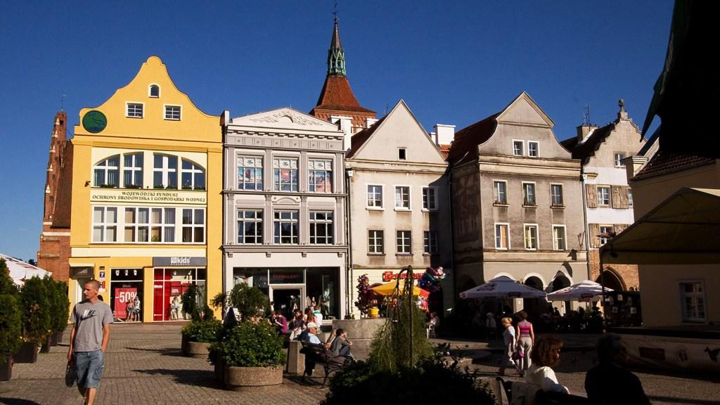 Olsztyn - la vieille ville