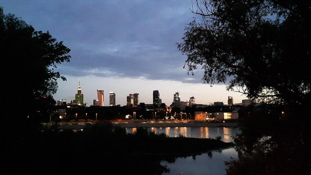 Varsovie – le centre-ville