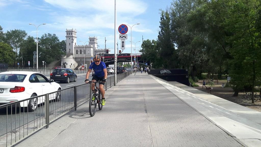 Varsovie - cyclistes