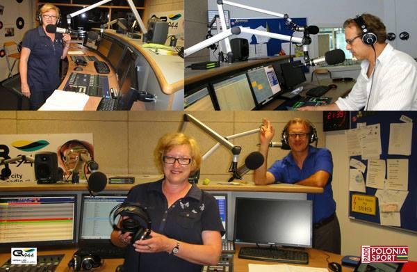 Andrzej Kempa , Dorota Fischer - Radio Polonia Sport www.poloniasport.com