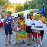 Team Australia i Austria