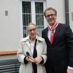 Maja Komorowska i Andrzej Kempa Order sw Stanislawa
