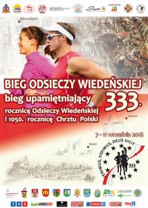 Bieg z okazji 333 rocznicy odsieczy wiedeńskiej i 1050 rocznicy chrztu Polski