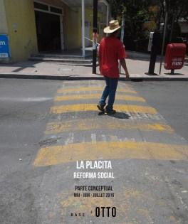 La Placita Reforma Social Mexico espacio publico jardin