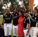 Winning Black Watch team (L to R)-Tom Barrack, Nacho Figueras, Bill Ballhaus and MVP Delfina Blaquier.