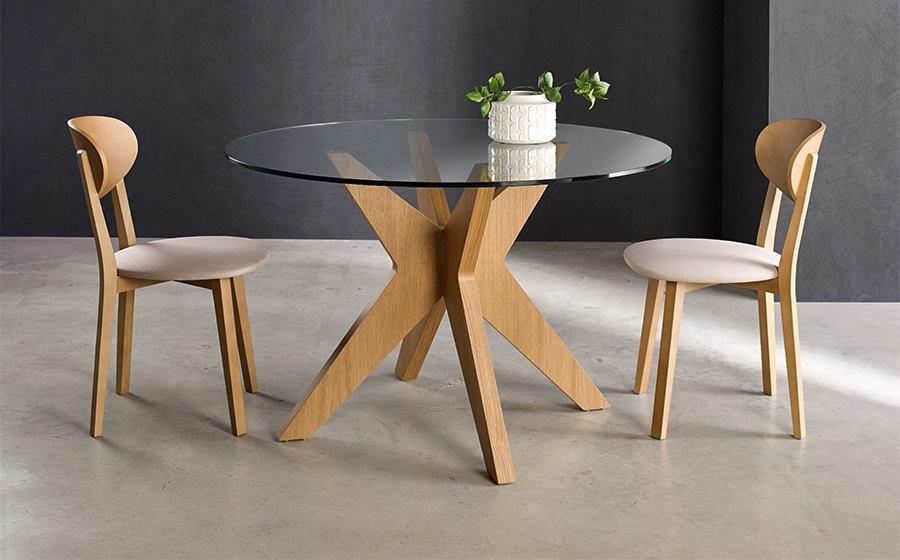 mesa comedor nogal gavin muebles polque