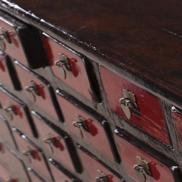 detalle cajones aparador vintage YING 1910 muebles polque