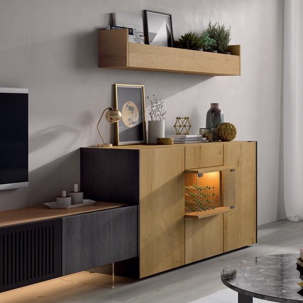 aparador cubo mueble tv piero muebles polque