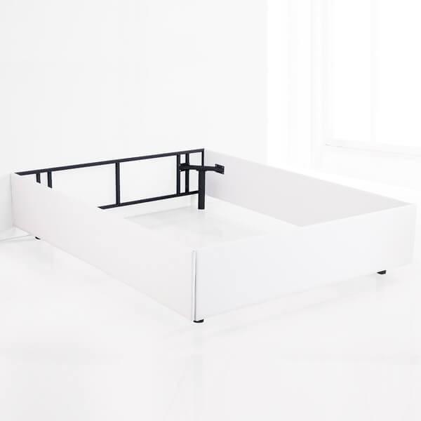 Aro de cama 160 Lu, blanco