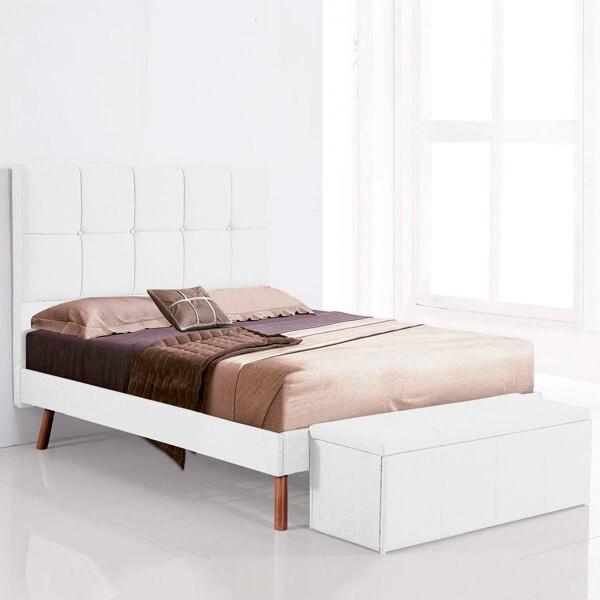 Aro de cama 160 Nor blanco