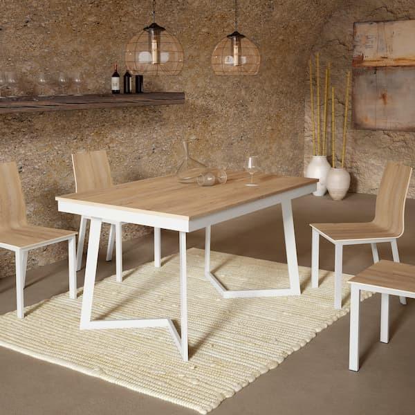 mesa de comedor madera muebles polque