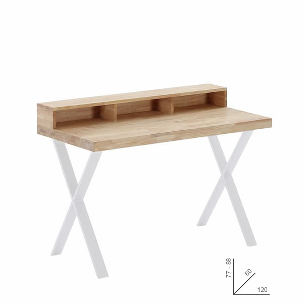 escritorio en roble Jazz X