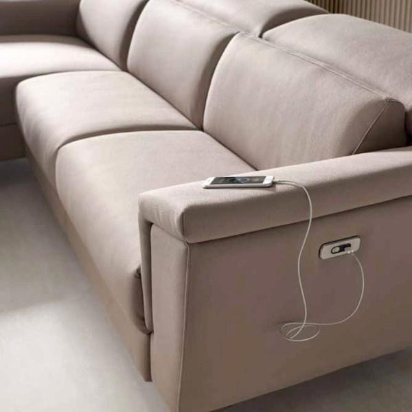 sofá relax eléctrico muebles polque