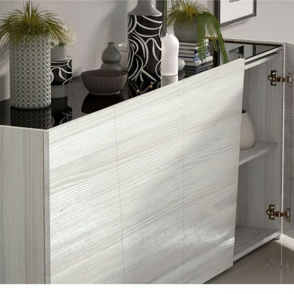 aparador salón madera artesana muebles polque