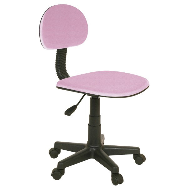 Silla escritorio juvenil Coco rosa