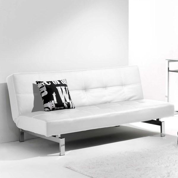 sofá cama blanco clic clac
