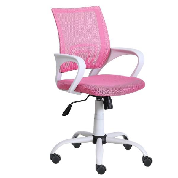 Silla escritorio Giovani rosa