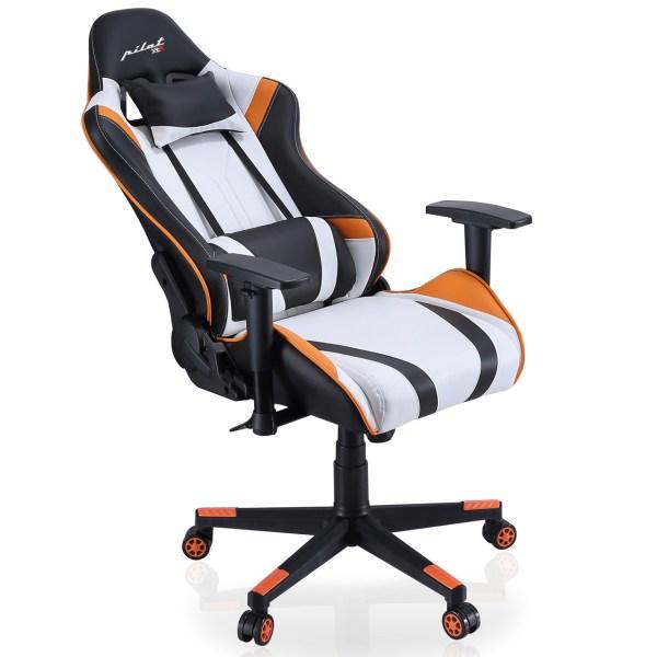Silla gamer Orange