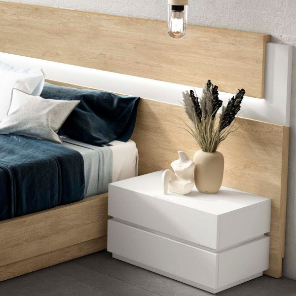 dormitorio moderno frida roble