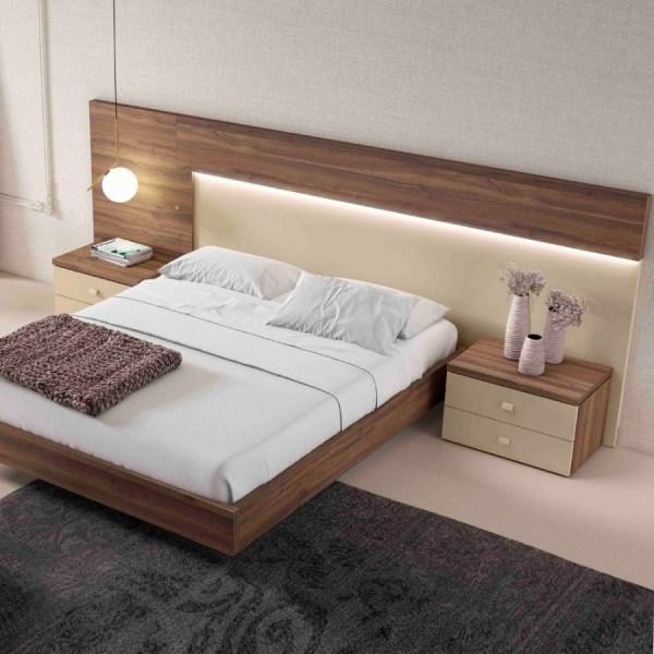 dormitorio moderno laia Nogal