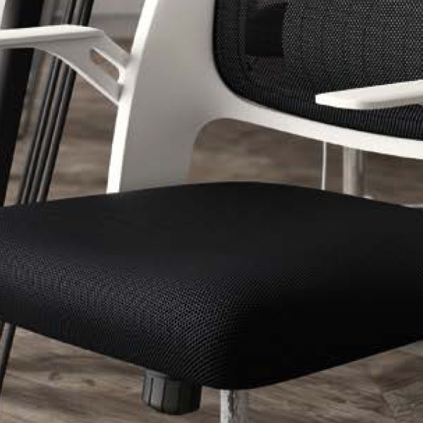 silla de escritorio Kie blanca