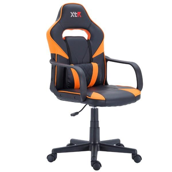 Silla gamer t-rex naranja