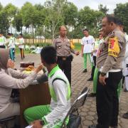 Kabagsumda Polres Simalungun Pimpin Kegiatan Pelatihan Jasmani Calon Anggota Polri TA.2019
