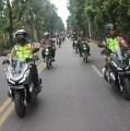 Ratusan Personel Polres Simalungun bersama TNI AD Kodim 0207 Simalungun Gelar Patroli Skala Besar