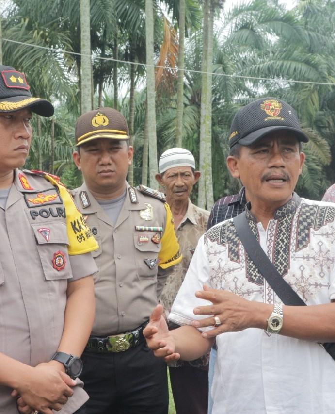 Pesan Kapolres Simalungun Kepada Warga Huta Pendawa Lima Nagori Bah Kisat Kecamatan Tanah Jawa
