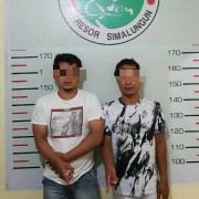 Satres Narkoba Polres Simalungun Berhasil Meringkus 2 Pria Jaringan Pengedar Narkoba