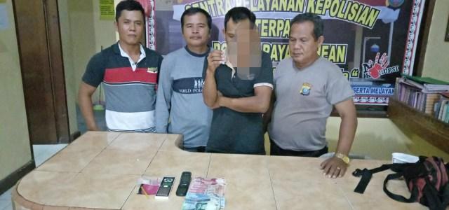 Polsek Raya kahean Berhasil Ungkap Pelaku Penyalahgunaan Narkotika Jenis Sabu