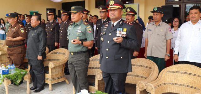 PELAKSANAAN HUT BHAYANGKARA KE 72 DI POLRES SIMALUNGUN BERLANGSUNG DENGAN HIKMAT