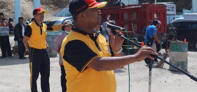 Bhakti Sosial Polres Simalungun, Instansi Terkait dan Ormas Kepemudaan di Pelabuhan Tigaras