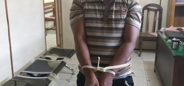 HASIL PENGEMBANGAN, POLSEK BOSAR MALIGAS BERHASIL TANGKAP PENGEDAR NARKOBA JENIS SABU.