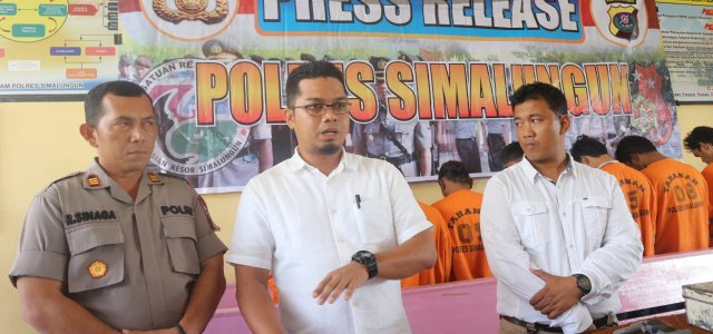 Satreskrim Polres Simalungun Ringkus 7 Sindikat Pencurian Mobil Antar Provinsi