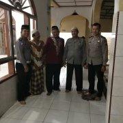 Personil Sat Lantas Melaksanakan Pam Ibadah Sholat Subuh di Mesjid Wilayah Hukum Polres Simalungun.