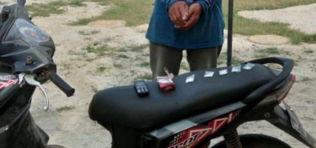 Polsek Bosar Maligas Berhasil Meringkus Pria 55 tahun Pelaku Penyalahguna Narkotika
