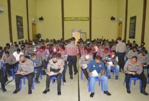 130 personel Polres Tulang Bawang ikuti tes psikologi untuk pinjam pakai senpi dinas