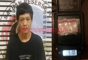 Petani yang menjadi Bandar Narkotika jenis sabu berinisial YR (36), warga Kampung Agung Jaya, Kecamatan Banjar Margo yang berhasil ditangkap Satresnarkoba Polres Tulang Bawang