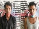 Dua pelaku peredaran gelap narkotika jenis sabu berinisial DH (37) dan DS (41), yang berhasil ditangkap Satresnarkoba Polres Tulang Bawang saat menggerbek kontrakan yang ada di Dusun Kanal Buntu, Kampung Pendowo Asri