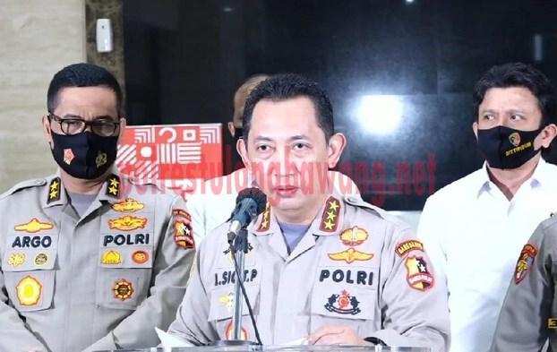 Kabareskrim Komjen Pol Listyo Sigit Prabowo menjadi calon tunggal Kapolri yang diajukan Presiden ke DPR RI
