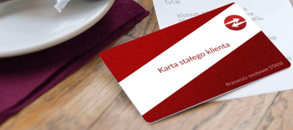 Karta stałego klienta - darmowe przejazdy
