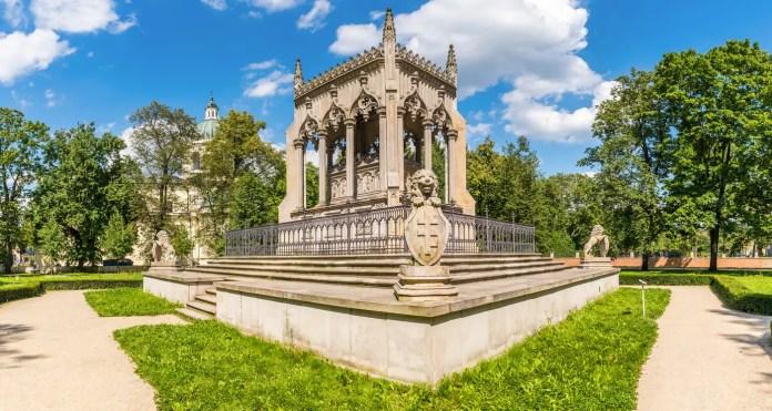 Pałac w Wilanowie mauzoleum Potockich