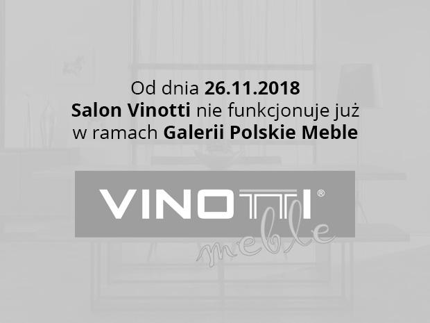 Likwidacja salonu Vinotti